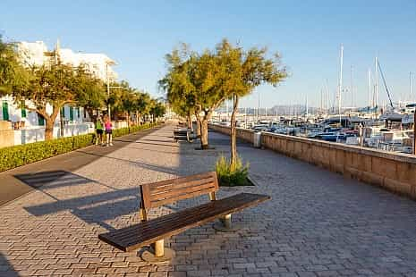 Promenade in Can Picafort, Mallorca